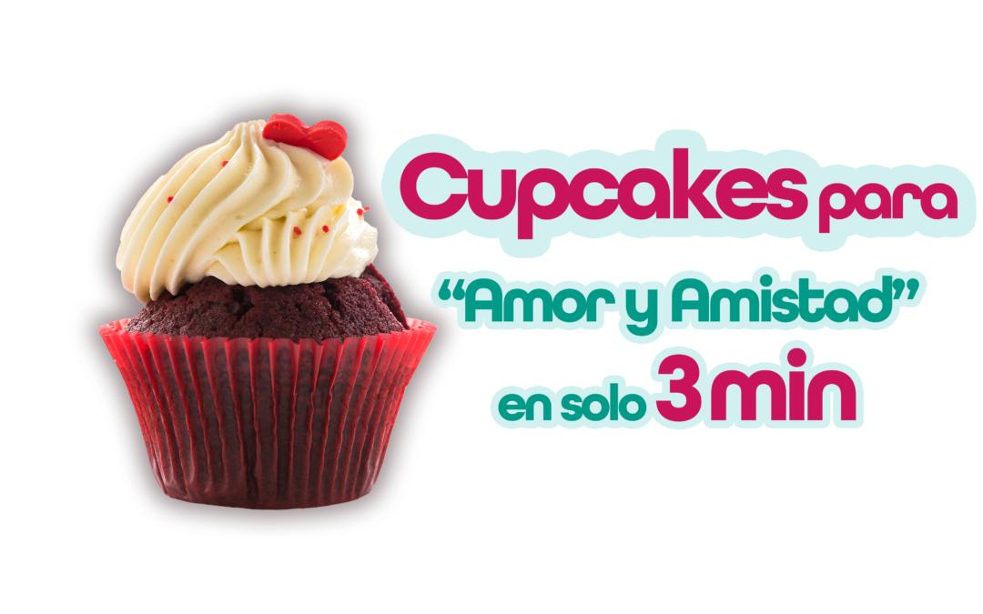 ¡Cómo hacer los mejores cupcakes para amor y amistad en solo 3 minutos!